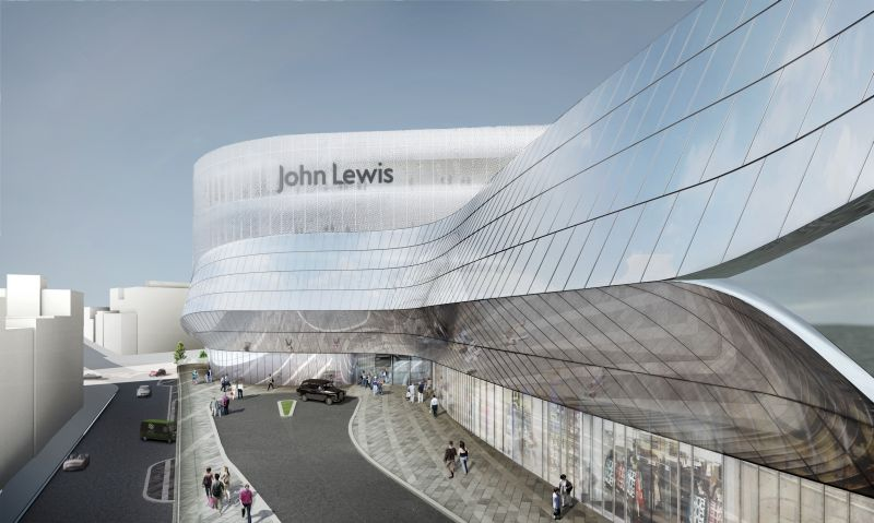 John Lewis Edinburgh Major Refurbishment: Phase Two
